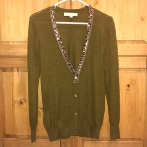 ** 2 for 25$* LOFT Cardigan with sequin trim